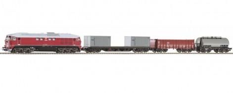 Nákladní vlak s T679.2 ČSD IV.epocha