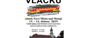Česká Skalice - výstava vláčků