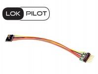 ESU 59826 dekodér LokPilot 5 micro DCC 6-pin NEM651 s dráty