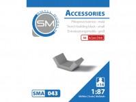 Small Models 043 příkopová tvárnice malá (50 ks)
