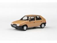 Abrex 143ABS-708RD Škoda Favorit 136L (1988) 1:43 - Hnědá Beduínská
