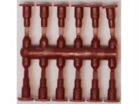 Hädl 913002-01 nárazníky trubkové obdélníkové hnědé