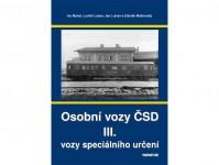 Nadatur 70137 Osobní vozy ČSD III. - vozy speciálního určení