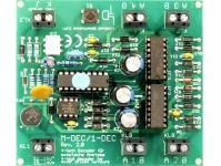 Littfinski Daten Technik 410412 dekodér pro motorické přestavníky 4-prvkový DCC