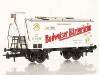 Heris 50033 chladírenský vůz Budweiser KKStb I.epocha