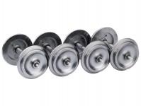Liliput L999300 kovové dvojkolí na vagóny průměr 31mm (4 ks)