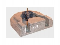Artmaster 80197 bunkr s protiletadlovou zbraní H0