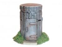 Artmaster 80061 betonový pozorovací bunkr H0