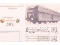 BDDP 18055 stavebnice vozu Wa s plošinami TT