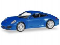 Herpa 038546-002 Porsche 911 Carrera 2S coupé modré