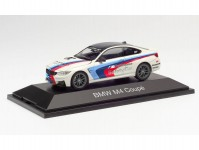 Herpa 071604 BMW M4 Coupé Safety Car bílé