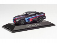 Herpa 071611 BMW M4 Coupé Safety Car černé