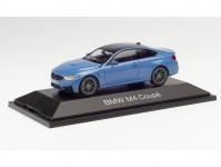 Herpa 071628 BMW M4 Coupé Laguna seca blau