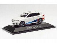 Herpa 071635 BMW X4 bílé Performance Tuning