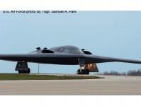 Herpa 571265 B-2A USAF Spirit of Louisiana