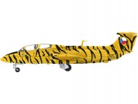 Herpa 82MLCZ7215 Aero L-29 Delfín Armáda ČR Tiger