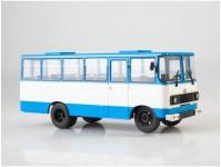 Herpa 83MP0072 autobus Progress-35 bílý / modrý