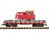 Piko 38776 vůz na přepravu automobilů s VW kombi