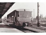 Piko 52887 motorový vůz BR 171 s přípojným vozem VB DR IV.epocha