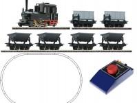 Roco 31035 analogový set s parní lokomotivou a nákladním vlakem