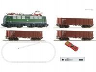 Roco 51330 z21 set s elektrickou lokomotivou řady 140 a nákladním vlakem