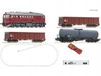 Roco 51331 z21 set s dieselovou lokomotivou řady 120 a nákladním vlakem