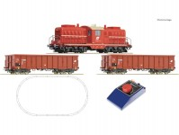 Roco 51334 analogový set s lokomotivou řady 2045 ÖBB a nákladním vlakem