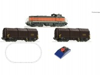 Roco 51335 analogový set s lokomotivou řady BB 63000 SNCF a nákladním vlakem
