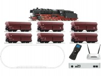 Roco 51337 startset Premium s parní lokomotivou řady 44 se zvukem