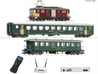 Roco 51338 set Z21 osobního vlaku s lokomotivou De4/4 SBB se zvukem