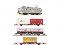Roco 61487 vlakový set s lokomotivou El16 a nákladním vlakem NSB DCC se zvukem