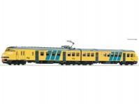 Roco 63139 elektrická jednotka Plan V žlutá NS DCC se zvukem