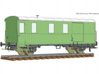 Roco 74220 služební vůz k nákladnímu vlaku Pwgs41 DB