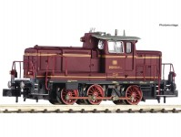 Fleischmann 722481 dieselová lokomotiva řady 260 vínová DB IV.epocha DCC