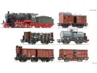 Fleischmann 781210 výroční set 2021 pruského nákladního vlaku K.P.E.V.