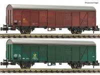 Fleischmann 831513 set poštovních vozů Post 2ss-t/13 DBP