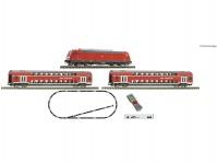 Fleischmann 931897 digitální startset osobního vlaku s lokomotivou BR 245 DBAG