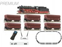 Fleischmann 931898 Premium digitální startset nákladního vlaku s BR 044 DB