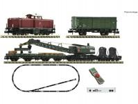 Fleischmann 931899 digitální startset stavebního vlaku s lokomotivou BR 212 DB