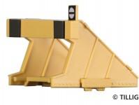 Tillig 85512 moderní koncovka koleje žlutá 4 ks