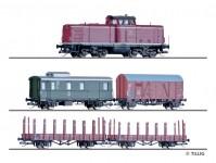 Tillig 01213 digitální set nákladního vlaku DB