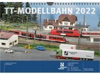 Tillig 09580 kalendář nástěnný TT-Modelleisenbahn 2022 - limitovaná edice