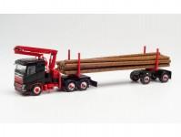Herpa 313575 Volvo FH FD přeprava dřeva