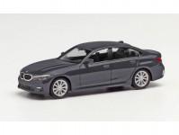 Herpa 430791-002 BMW 3 Limousine šedá metalíza