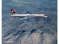 Herpa 535168 Swissair Convair CV-990 HB-IC