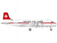 Herpa 571357 DC-4 Swiss International Air Lines