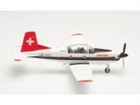 Herpa 580656 Swissair Pilatus PC-7 letecká škola