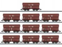 Trix 15458 set výsypných vozů Erz IIId DB