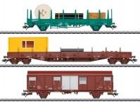 Märklin 49956 set vozů stavebního vlaku SNCB
