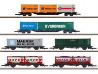Märklin 82665 set kontejnerových vozů DBAG